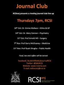 Journal Club Fall 2013 Schedule