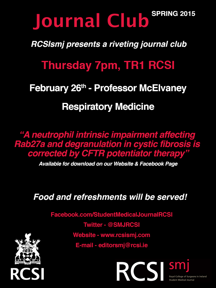 Journal Club - McElvaney