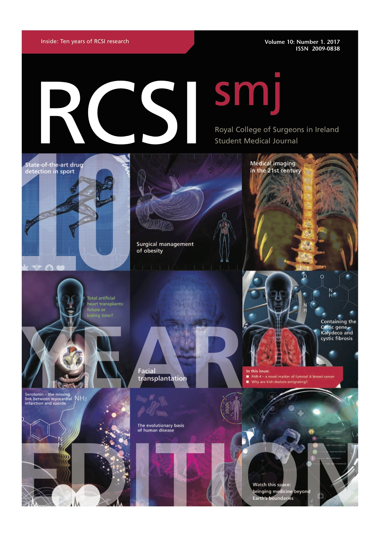 RCSIsmj Vol 10 Cover