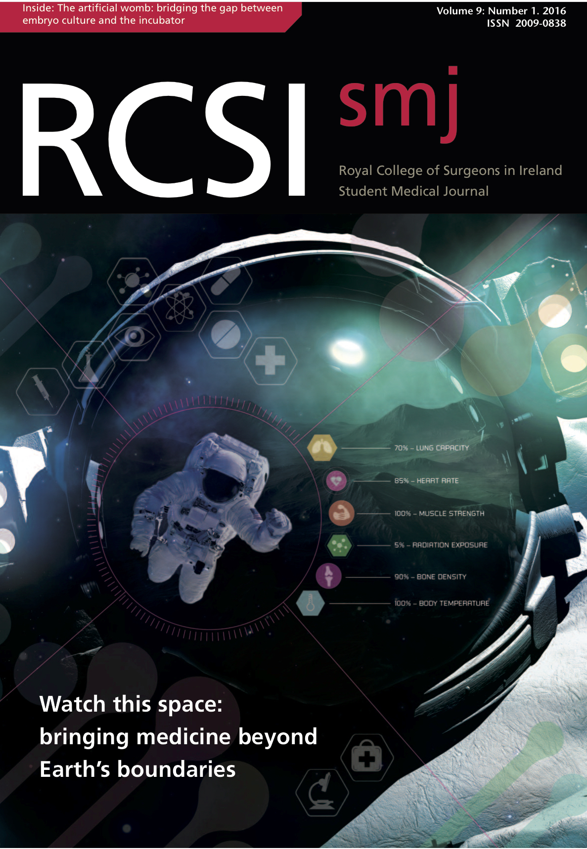 RCSIsmj Vol 9 Cover